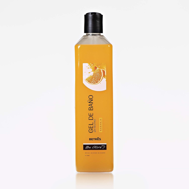 Gel de baño de sabores Betrés 750 ml (Naranja): Amazon.es: Belleza