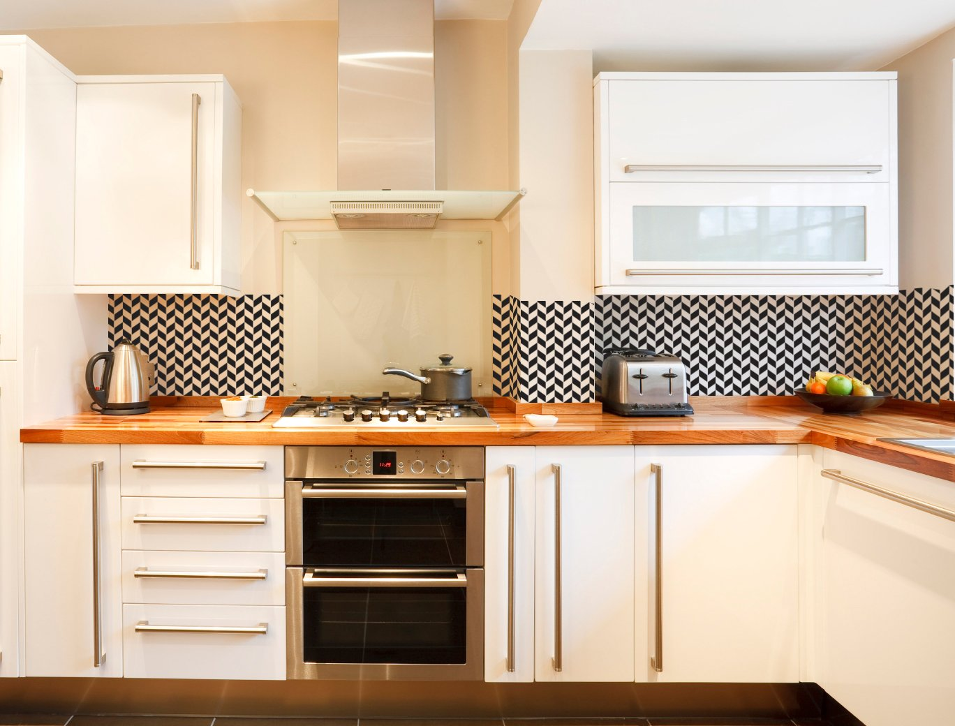 Modern Herringbone - Small - Custom Vinyl Wall Art Decal for Homes, Offices, Kids Rooms, Nurseries, Schools, High Schools, Colleges, Universities, Interior Designers, Architects, Remodelers