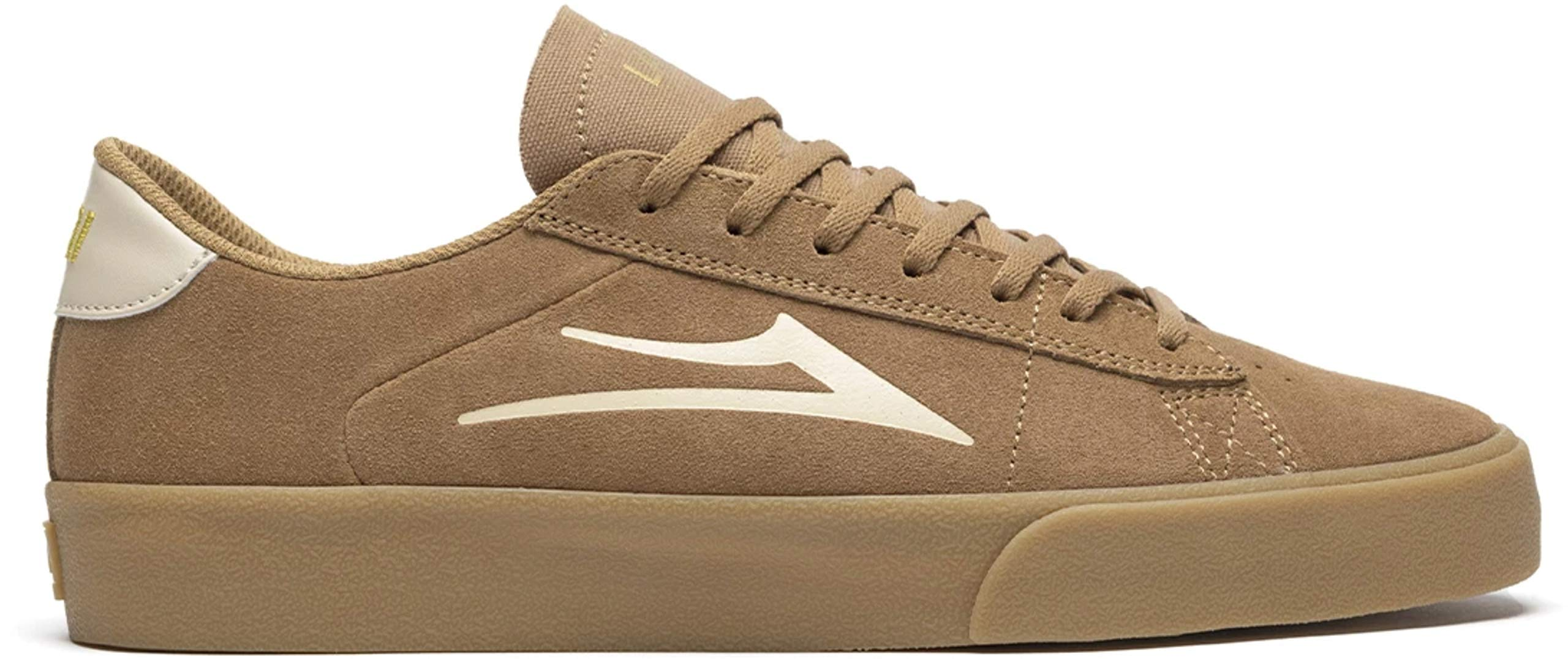 Lakai Limited Footwear Mens Newport Skate Shoe, Tan/Gum Suede, 13 M US by Lakai Limited Footwear Mens