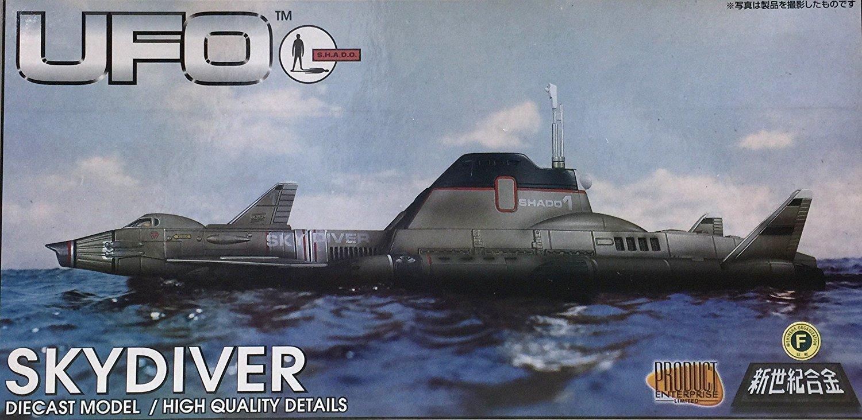絶版品 ミラクルハウス 新世紀合金  謎の円盤UFO スカイダイバー 完成品 B00M6MEG9Q