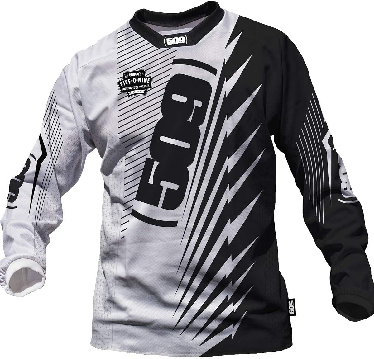 509 Voltage Jersey White - Medium