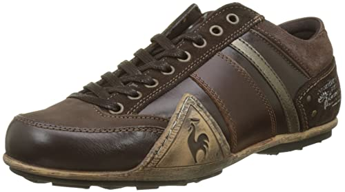 Le COQ Sportif Turin Leather/Chambray, Zapatillas para Hombre, Marrn (Reglisse Marron), 41 EU