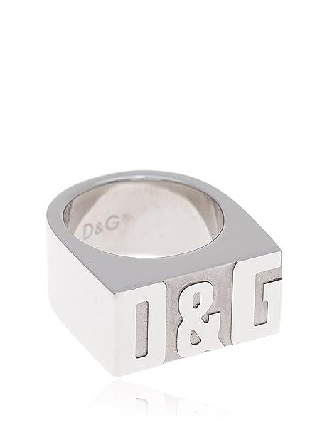 Dolce   Gabbana Anello Unisex acciaio inossidabile  Dolce   Gabbana ... bb2432b1085
