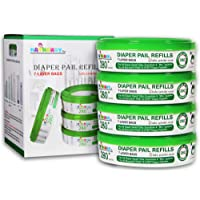 Diaper Pail Refills and Diaper Bags for Diaper Genie and Munchkin,set of 4