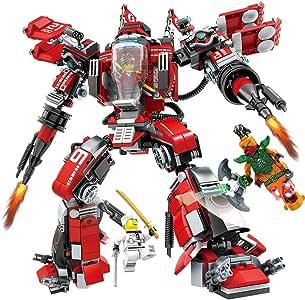 Maweiwei Mecha Deformación Modelo de Robot Empalme Bloques de ...