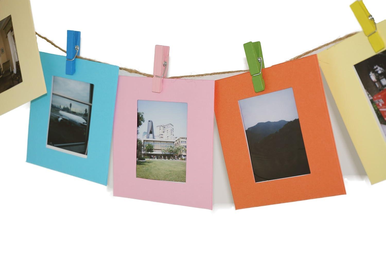 Amazon.de: MoreGift4U 10 Farben Multicolor-Papier Bilder ...