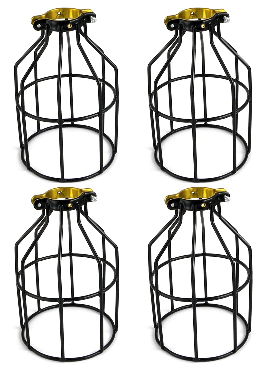 Amazon.com: Newhouse Lighting Metal Lamp Guard For Pendant String Lights  And Vintage Lamp Holders, Industrial Wire Iron Bird Cage, 4 Pack: Home  Improvement