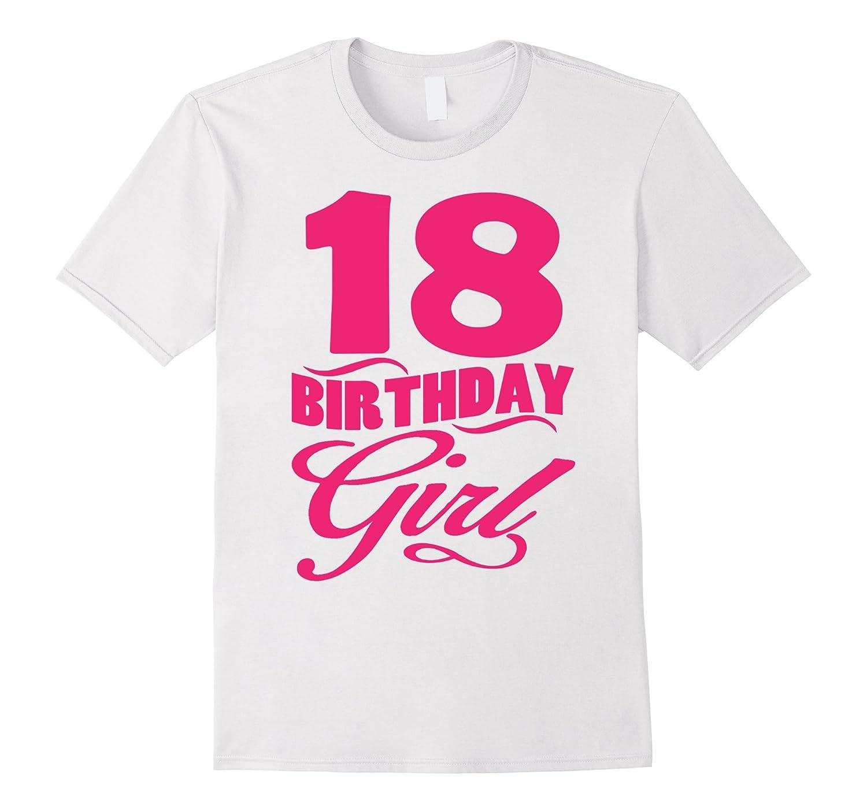 Women's 18th Birthday Girl 1999 Pink T-shirt-4LVS