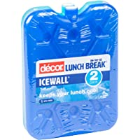 Décor Ice Pack for Lunch Box, Bags and Coolers, Pack of 2