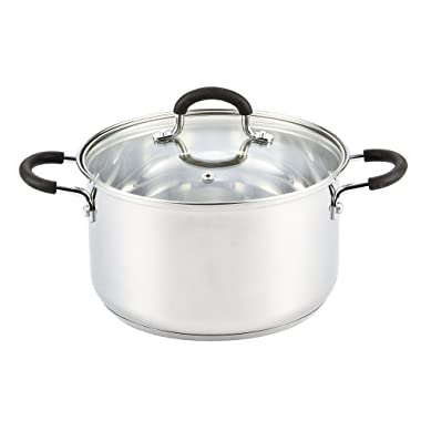 Cook N Home 5 Quart Stainless Steel Stockpot With Lid