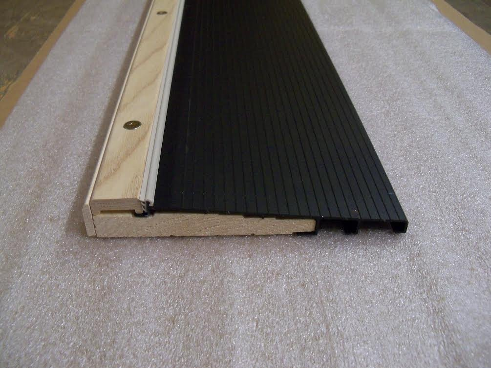 7 13/16'' Wide Inswing Threshold with Ash Cap with Pine Base (6' (72''), Dark Bronze)