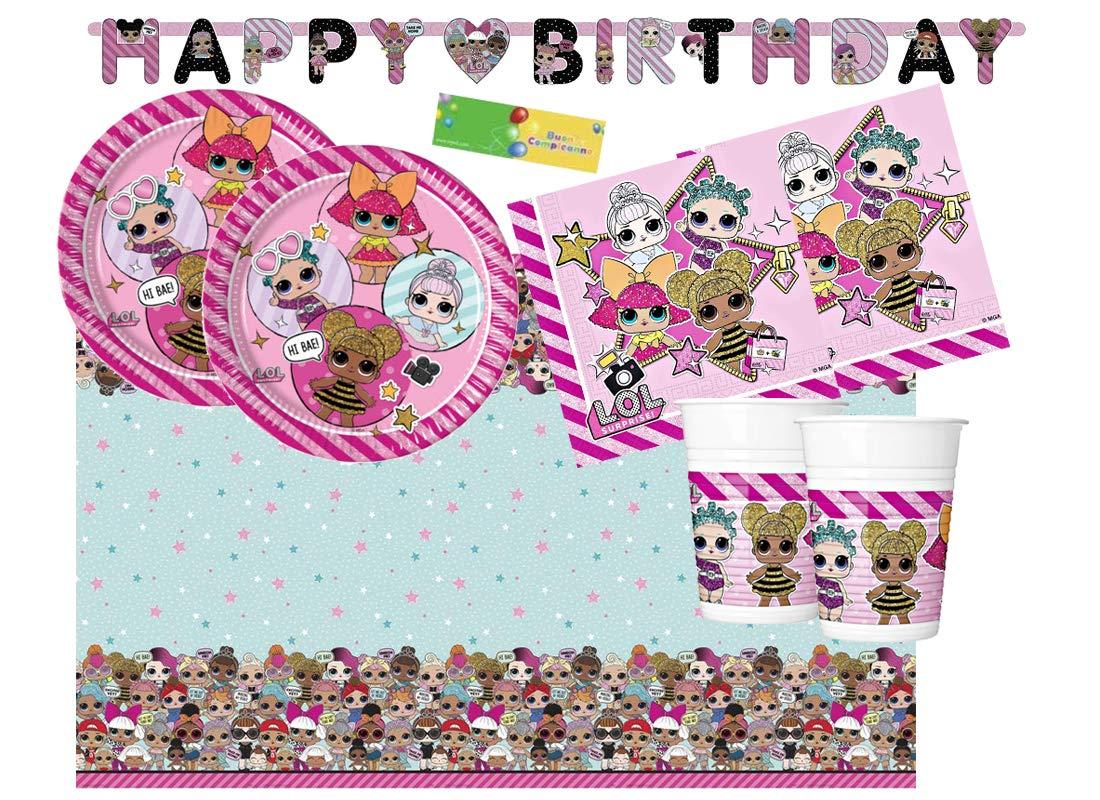 Decorada Party Kit 13 coordinado Cumpleaños LOL Surprise ...