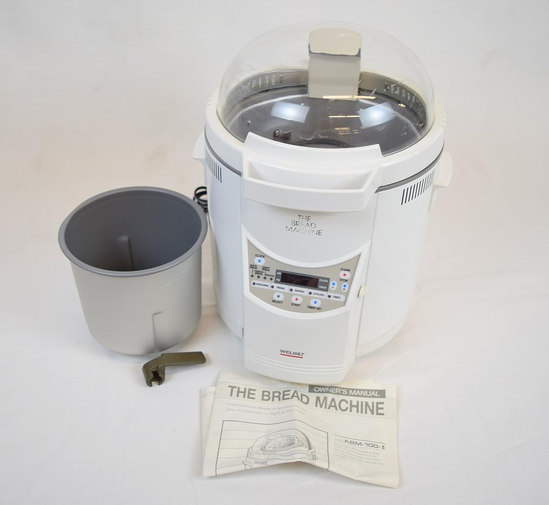 Welbilt bread machine model abm-100-3 owner's instruction manual.