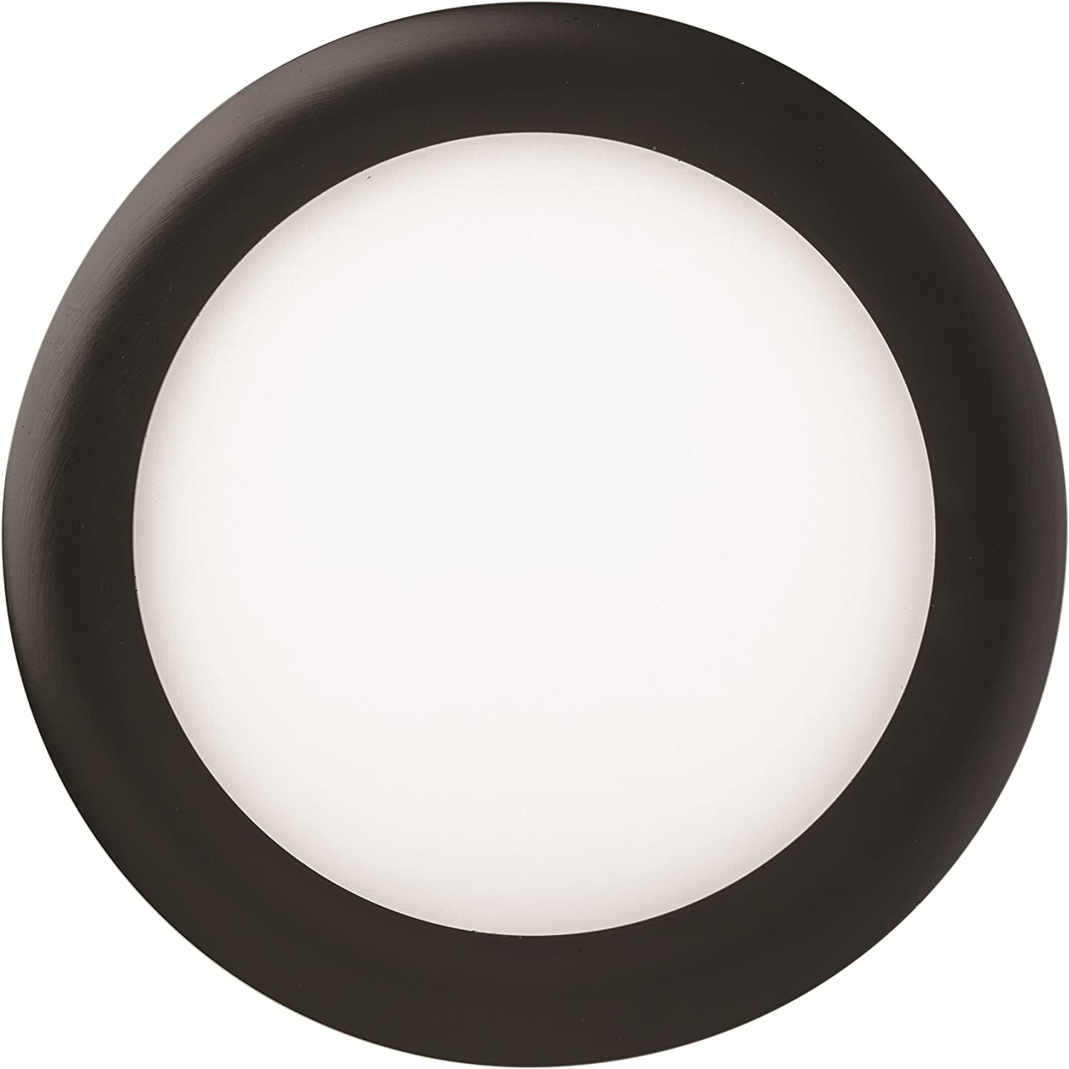 Wet Listed 1200 Lumen Matte White 14 Watts Lithonia Lighting WF6 LED 5000K MW 6-Inch Dimmable With Ultra Thin LED Recessed Ceiling Downlight 120 Volts