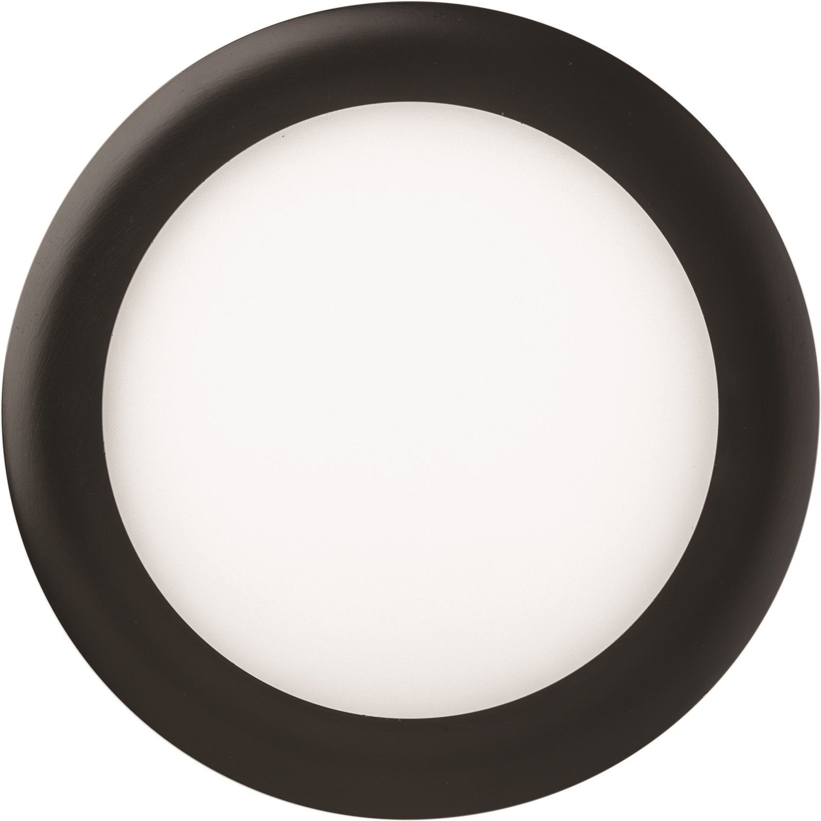 Lithonia Lighting WF6 LL LED 27K MB M6 12.7W Ultra Thin Round Dimmable Recessed Ceiling 2700K, Warm White in Black, 6 inch Lower Lumen Package, Matte Black