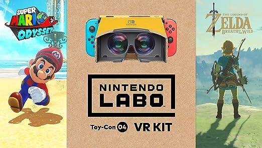 Nintendo Labo Toy-Con 04: VR Kit - Starter Set + Blaster for ...
