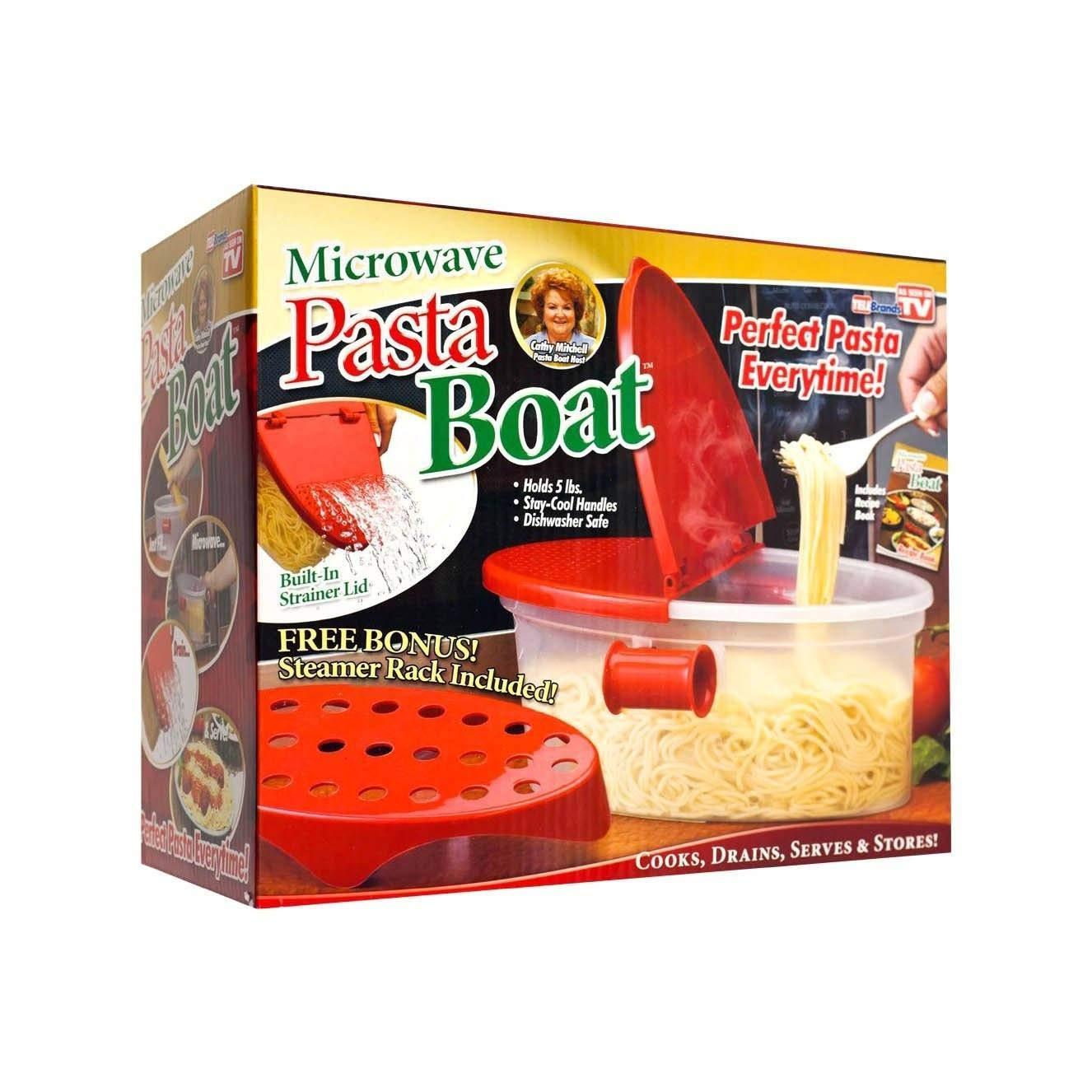 Perfect Pasta Cooker resistente al calor PP barco microondas ...