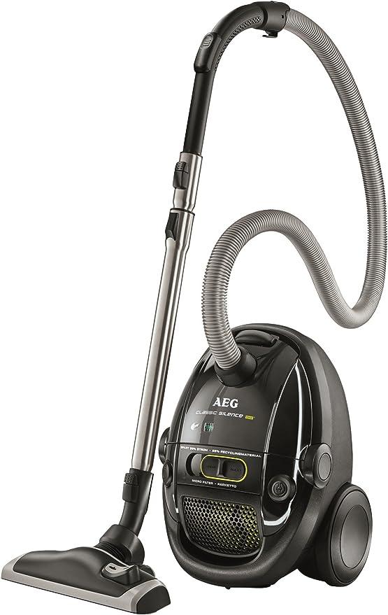 AEG ClassicSilence Green – Aspirador con bolsa compacto y ...
