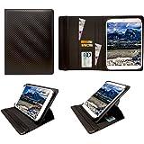 Winnovo M798 4G Tablet 7.85 inch Carbone Nero Universale 360 Gradi di Rotazione PU Pelle Custodia Case Cover ( 7 - 8 Pollici ) di Sweet Tech