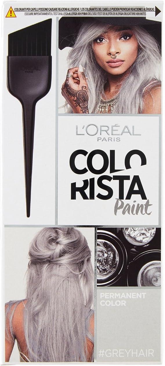LOréal Paris Colorista Paint - Grey Hair: Amazon.es: Belleza
