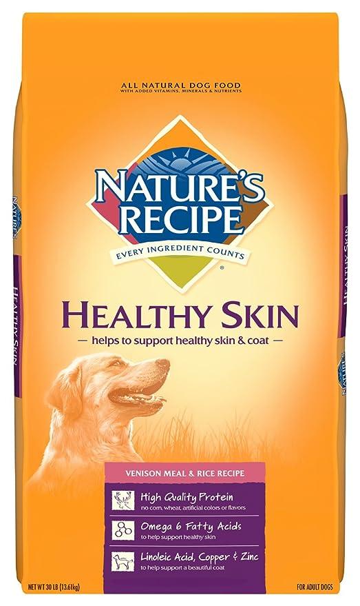 Amazon Com Nature S Recipe Healthy Skin Venison Meal Rice Recipe