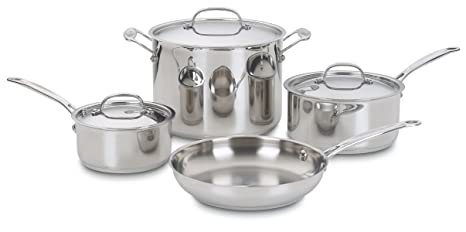 Amazon.com: Cuisinart 77-7 Chef Classic - Batería de cocina ...