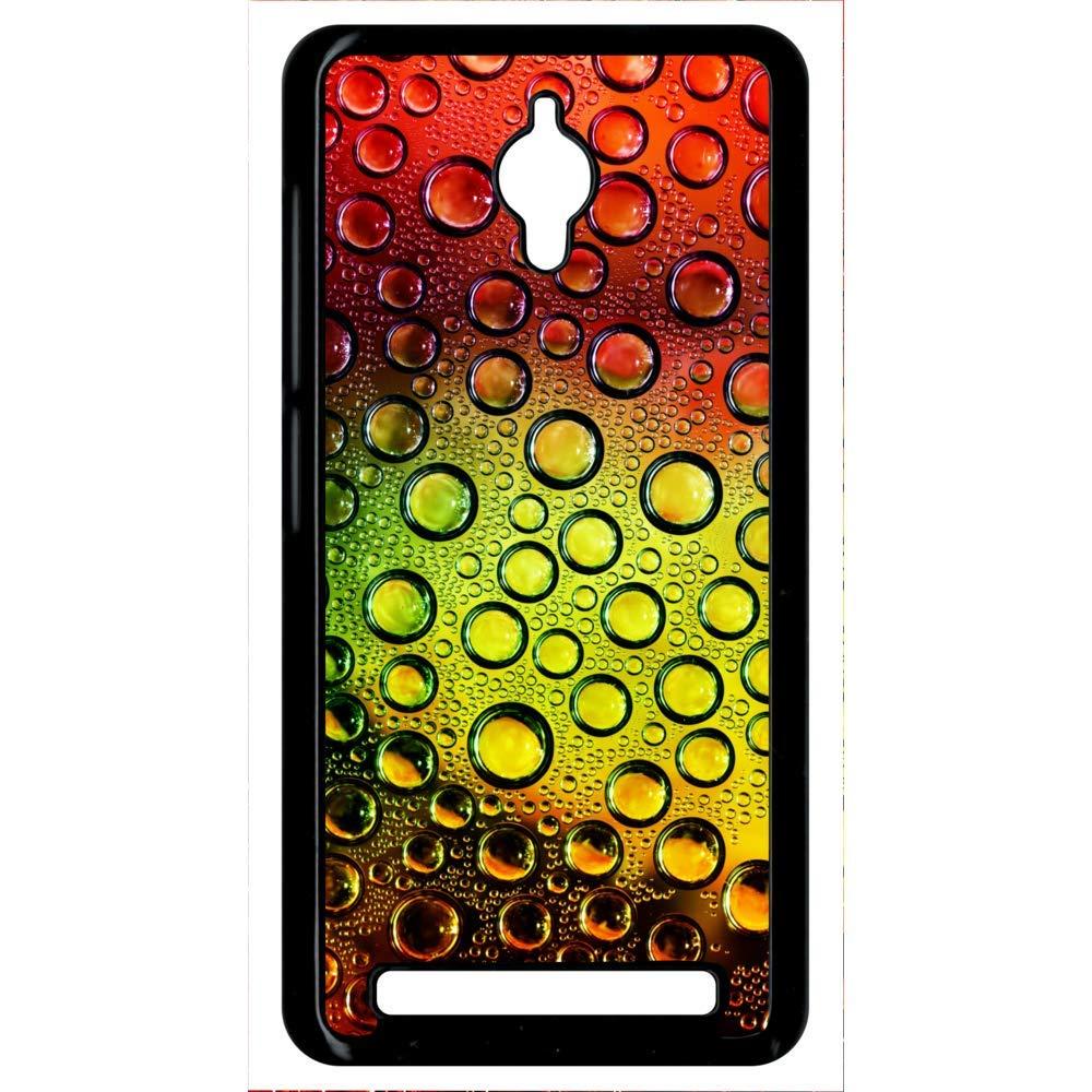 Carcasa Asus Zenfone Go efecto textura agua en color: Amazon ...