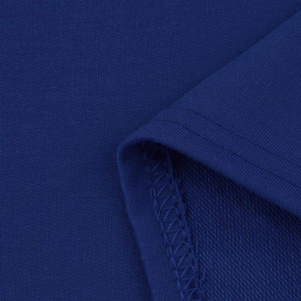 Rambling New Women's Pullover Irregular Hem Long Drawstring Loose Hoodie Top Dress by Rambling (Image #7)
