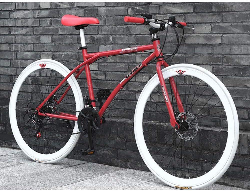 26 pulgadas delantera de la bicicleta y el amortiguador trasero de bicicletas de montaña bicicletas 1 Velocidad completa Bicicletas MTB Suspension for Hombres Mujeres Cruz / País de bicicletas Estudia