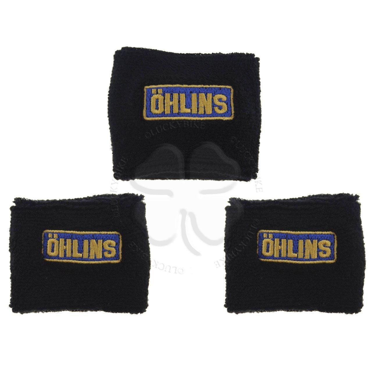 Reservoir Sock - Ohlins - Set -1x Large & 2x Small - Black
