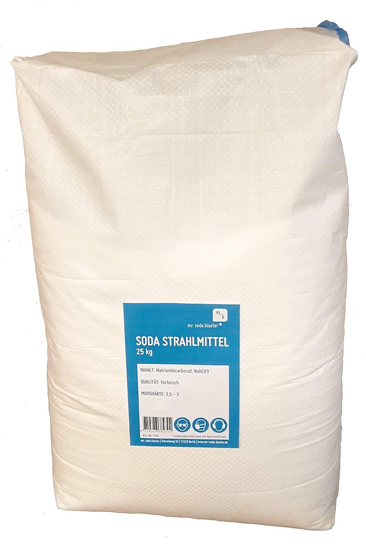 optimal für Sodablaster Strahlpistolen 10 kg Soda Strahlmittel 0,1-0,3 mm