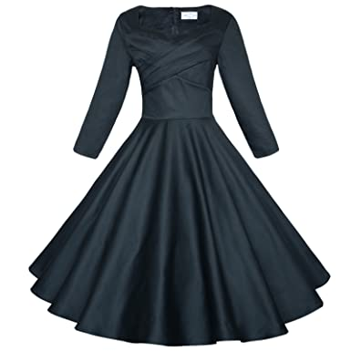 Long Sleeve Vintage Cocktail Dresses