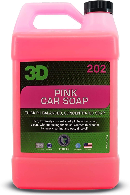3d桃红色洗车肥皂