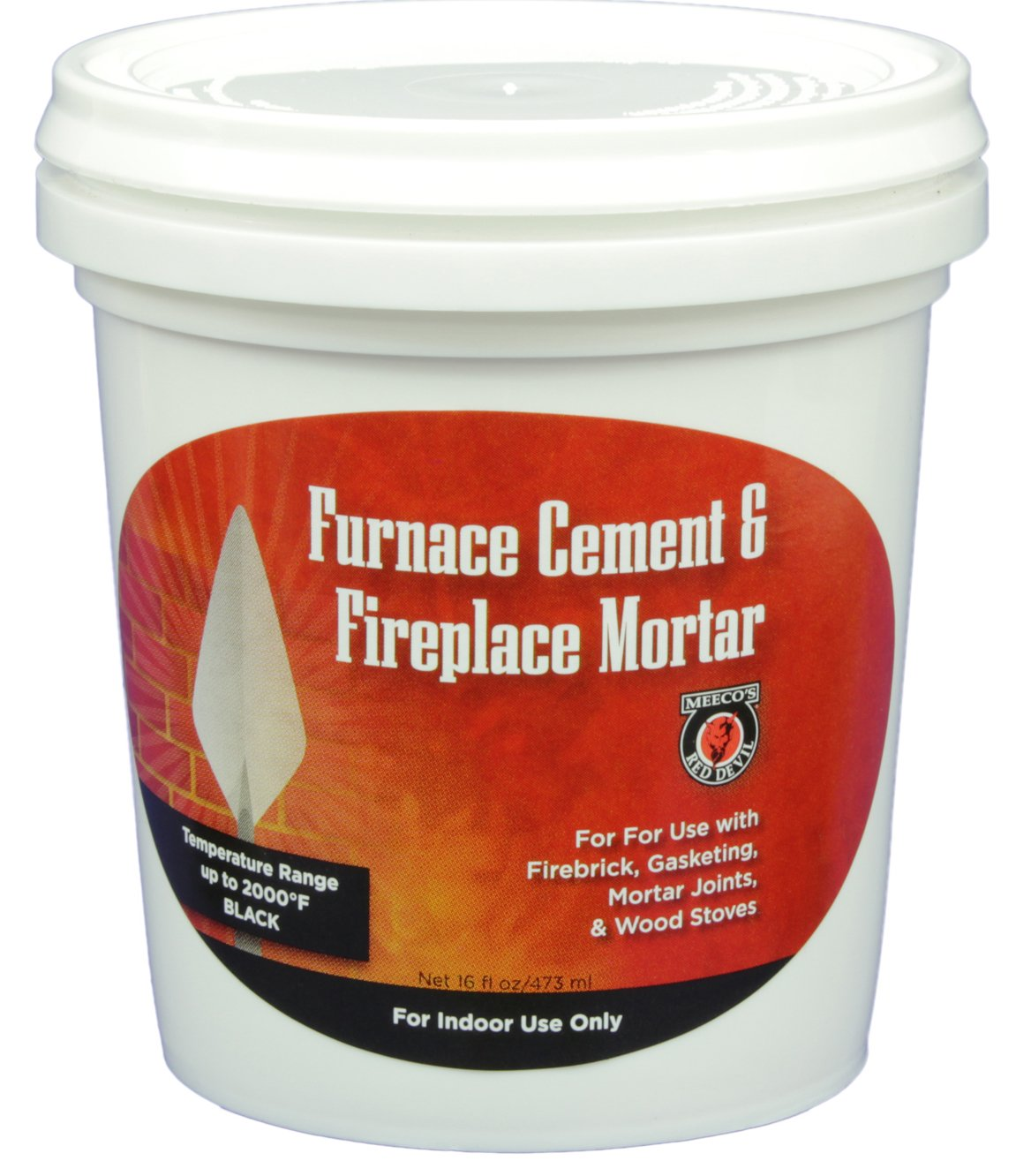 MEECO'S RED DEVIL 1333 Furnace Cement and Fireplace Mortar