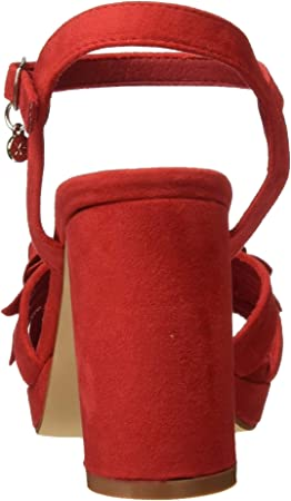 XTI 35044, Zapatos con Tira de Tobillo para Mujer
