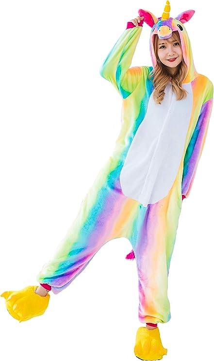 Kauson Monkey Kigurumi Flanela Unicornio Pijamas la Ropa de Noche del Traje Onesie 3D Novedad Mono Cartoon Animal Cosplay Disfraces Mascotas Carnaval ...