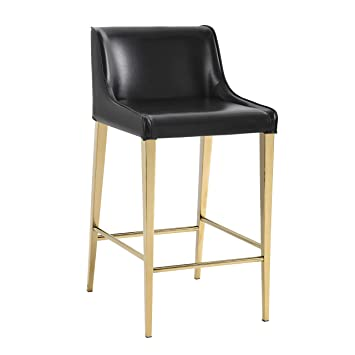 Strange Sunpan Ikon Counter Stools Black Gmtry Best Dining Table And Chair Ideas Images Gmtryco