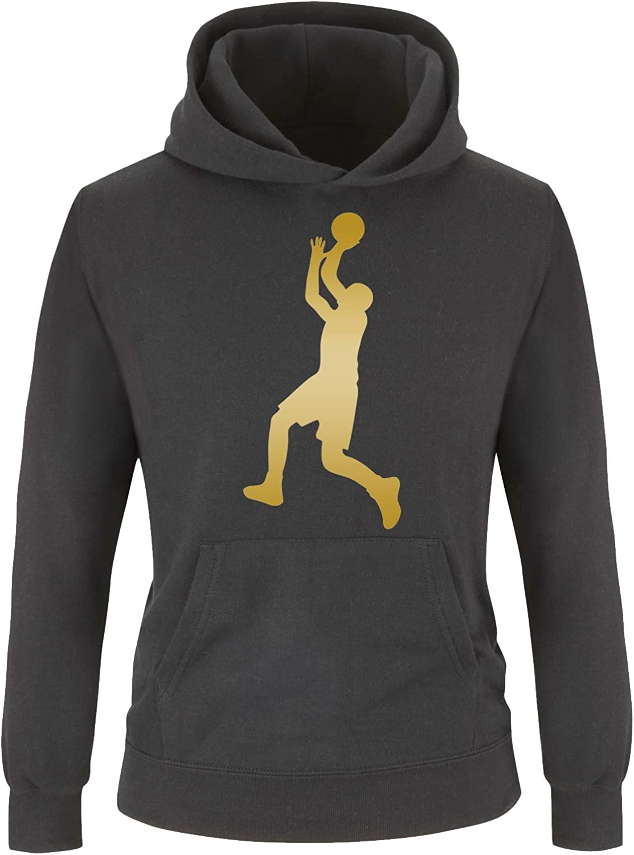 Farben Kinder Hoodie Gr Comedy Shirts 98//104-152//164 Versch Basketballspieler