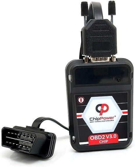 Chiptuning ChipPower OBD2 v3 mit Plug/&Drive f/ür Duster II 1.6 SCe 115 //LPG 2017-2020 Tuningbox Benzin Chip Tuning Mehr Leistung