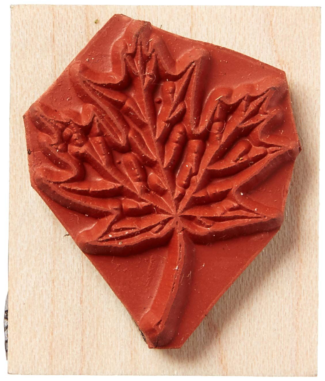 Stamps by Impression ST 0171 Maple Leaf Rubber Stamp