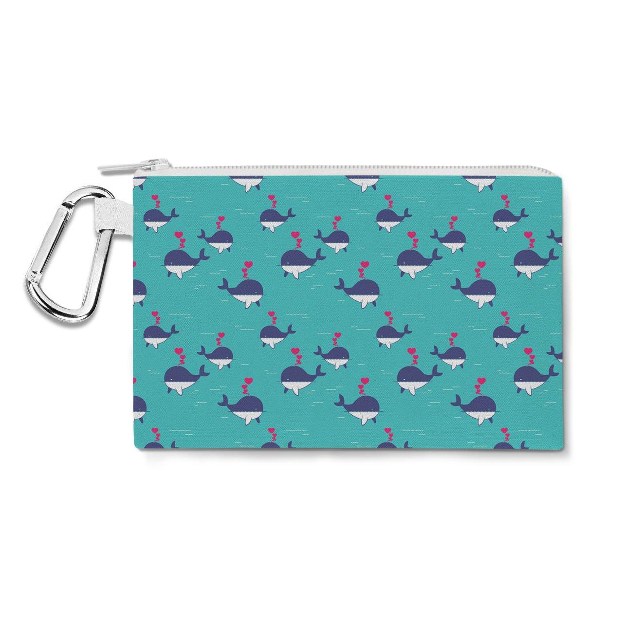 大特価!! I 10x7 Whale Always Canvas Love ブルー YouキャンバスZipポーチ – マルチ目的鉛筆ケースバッグin 6サイズ Large Canvas Pouch 10x7 inch ブルー B011REJRPQ Large Canvas Pouch 10x7 inch, WEB通販【村田時計店】:4c0e9931 --- arianechie.dominiotemporario.com