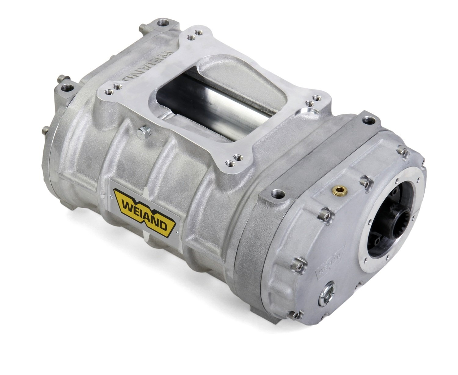 Weiand 6010-1 Pro-Street Supercharger Small Block Satin Case Assembly