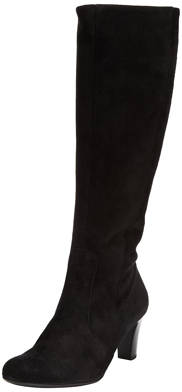 a0f4a4122a5 Gabor Womens Maybe Med S Boots 95.669.17 Black Suede (Micro) 4 UK ...