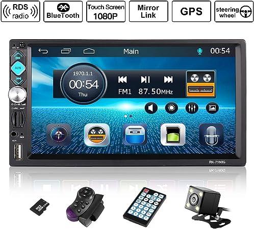 Outad Autoradio Gps Navigation Wince 7 1080p Elektronik