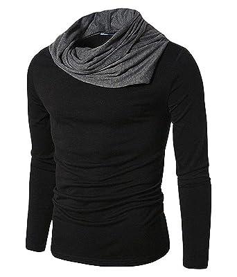 black full sleeves t shirt