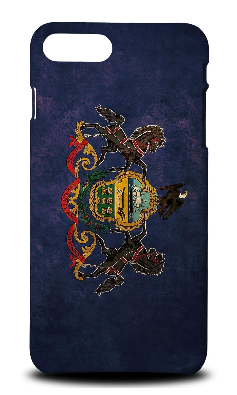 Amazon.com: Pennsylvania Us State Flag Hard Phone Case Cover ...