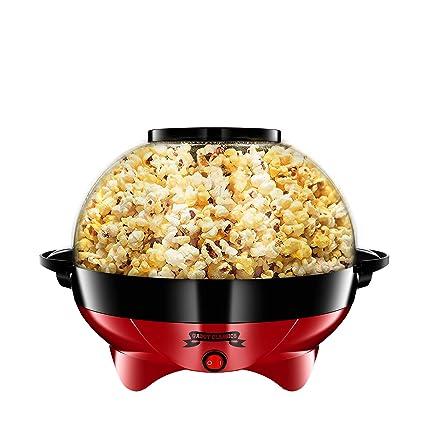 Gadgy ® Palomitero l con Capa Antiadherente l Maquina Palomitas de maiz | Silencioso y Rápido l Capacidad: 5 litros