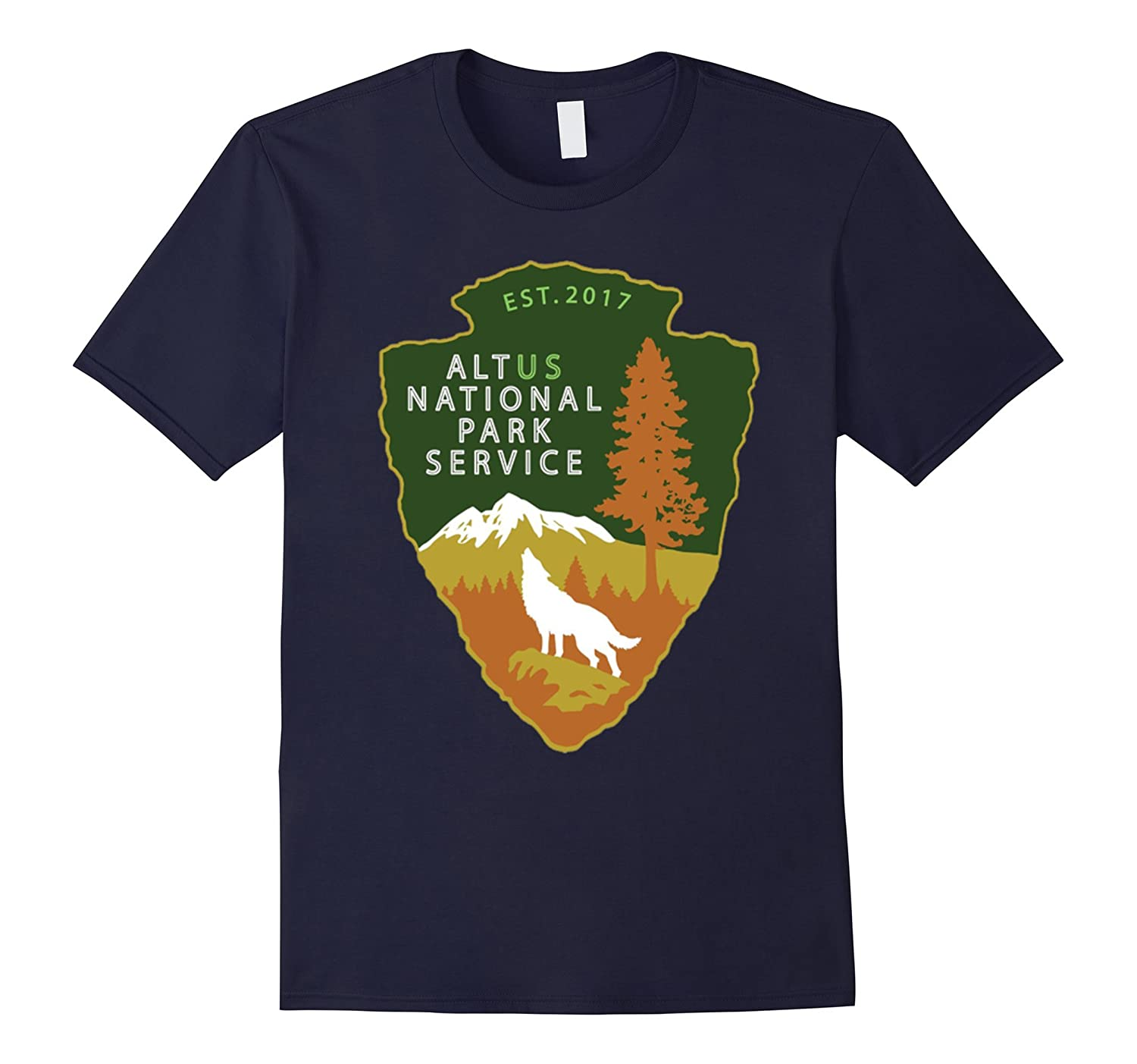 Alt US National Park Service T-Shirt-TH