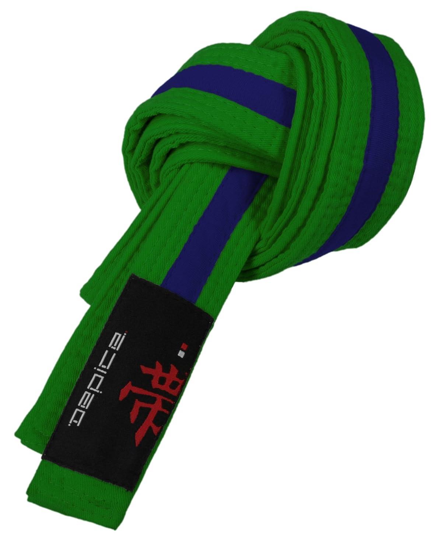 talla 220 cm DEPICE Cinturones de artes marciales color azul