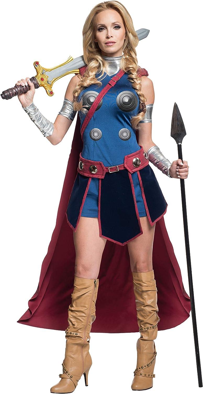 Disfraz de Valkiria Marvel para mujer: Amazon.es: Juguetes y juegos